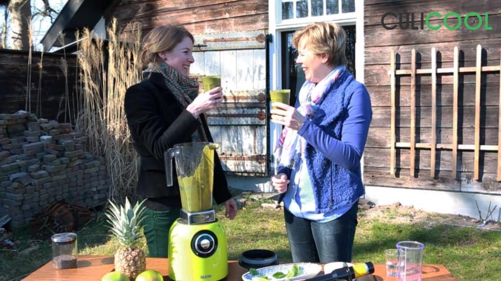 Brenda en Nicole - smoothie Jaglust 12032015