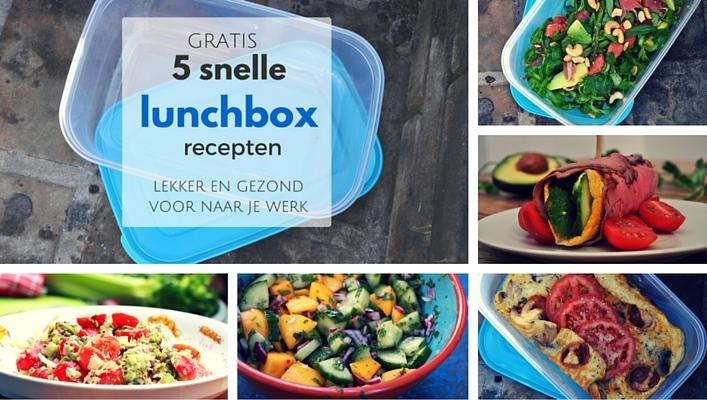 Uitgelichte afbeelding - wordpress 707x400 - 5 snelle lunchboxrecepten