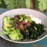 Wakame salade met tonijn voor een jodiumboost
